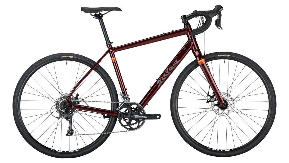 salsa journeyman claris 700c copper