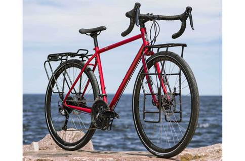 trek 520 red touring bike